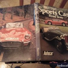 Coches: ESPECTACULAR TOMO BRITISH SPORTS CARS ROAD TESTS COCHES DEPORTIVOS NIGEL FRYALT 1982. Lote 142233642