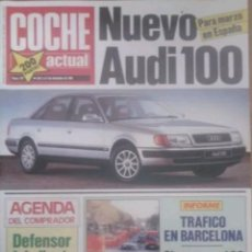 Coches: REVISTA N°137 COCHE ACTUAL 1990. Lote 142740404