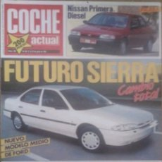 Coches: REVISTA N°165 COCHE ACTUAL 1991. Lote 142740468