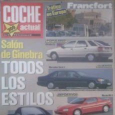 Coches: REVISTA N°152 COCHE ACTUAL 1991. Lote 142740821