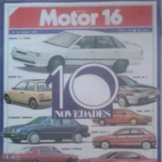 Coches: REVISTA N°174 MOTOR 16 DIEZ NOVEDADES 1987. Lote 142754421
