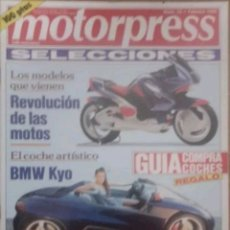 Coches: REVISTA N°22 MOTORPRESS 1992. Lote 142835441
