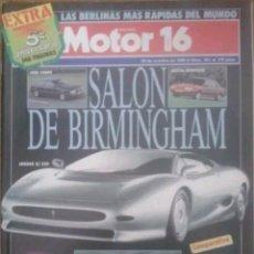 Autos - Revista n°262 Motor 16 salón de Birmingham 1988 - 142839269