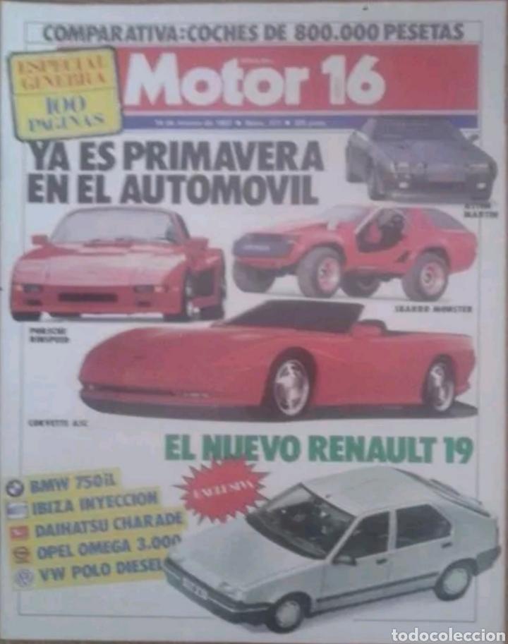 REVISTA N°177 MOTOR 16 ESPECIAL PRIMAVERA 1987 (Coches y Motocicletas Antiguas y Clásicas - Revistas de Coches)
