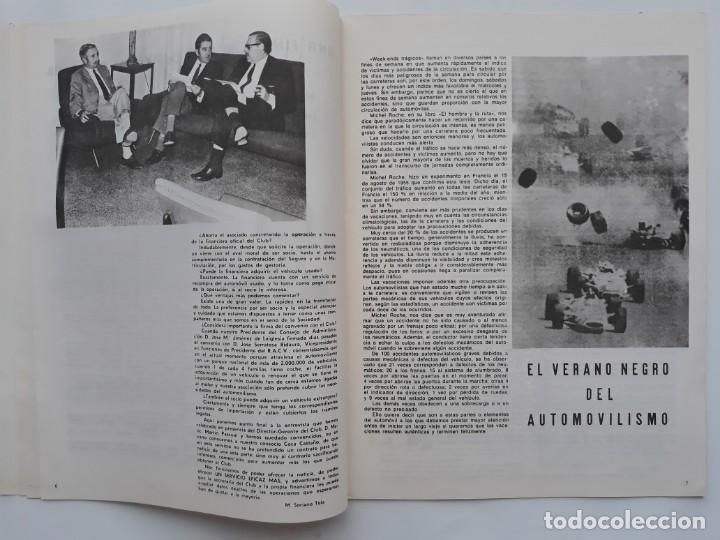 Coches: REVISTA GRAFICA, REAL AUTOMOVIL CLUB, VALENCIA 1970, PUBLICIDAD SEAT 1800 DIESEL - Foto 3 - 142867778