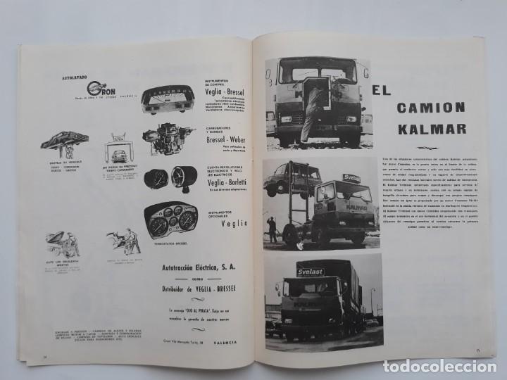 Coches: REVISTA GRAFICA, REAL AUTOMOVIL CLUB, VALENCIA 1970, PUBLICIDAD SEAT 1800 DIESEL - Foto 4 - 142867778