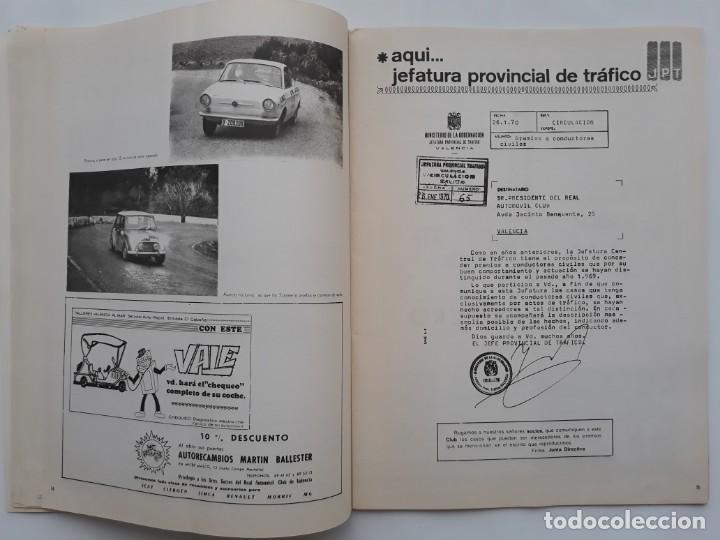 Coches: REVISTA GRAFICA REAL AUTOMOVIL CLUB VALENCIA PUBLICIDAD CERVEZA AGUILA IMPERIAL FORD HISTORIA FABULO - Foto 4 - 142868626