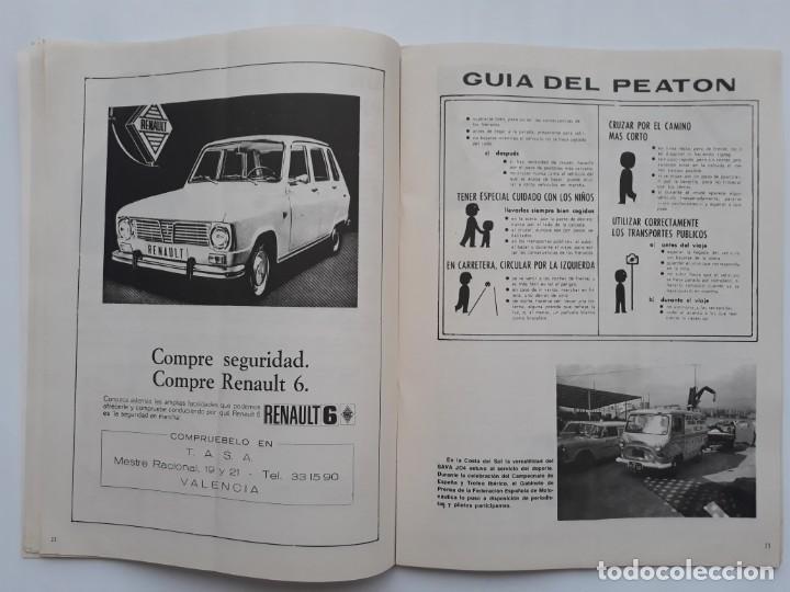 Coches: REVISTA GRAFICA REAL AUTOMOVIL CLUB VALENCIA PUBLICIDAD CERVEZA AGUILA IMPERIAL FORD HISTORIA FABULO - Foto 5 - 142868626