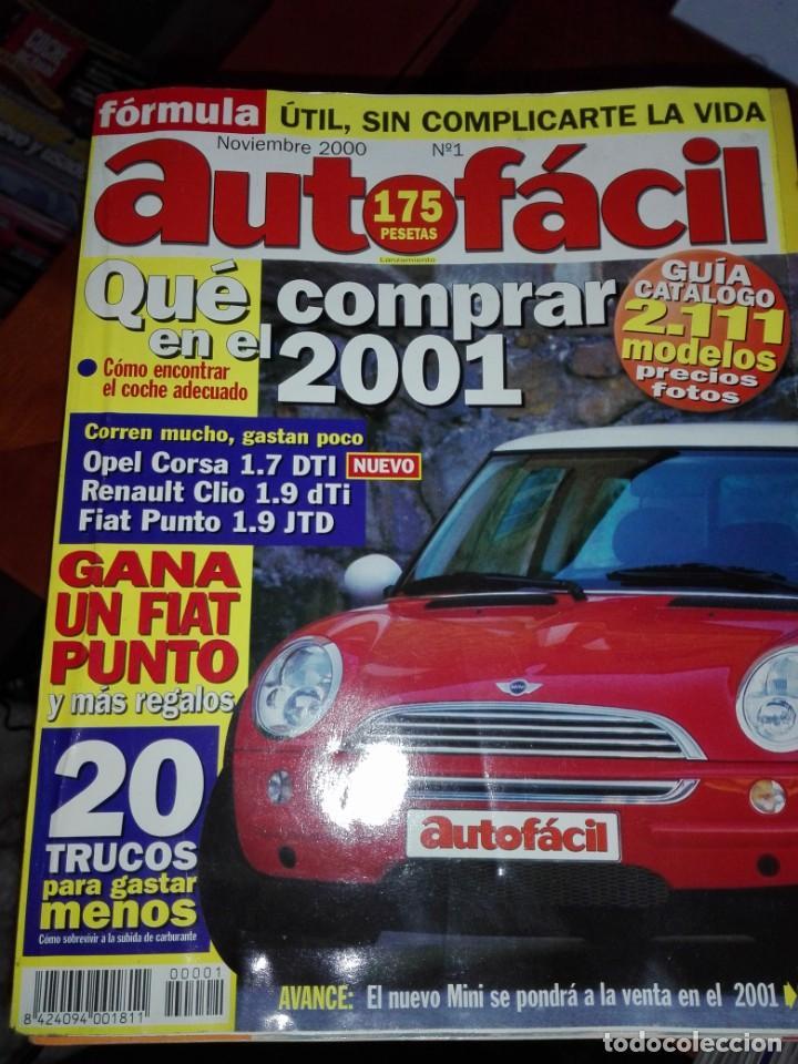 AUTO FACIL 29 REVISTAS (Coches y Motocicletas Antiguas y Clásicas - Revistas de Coches)
