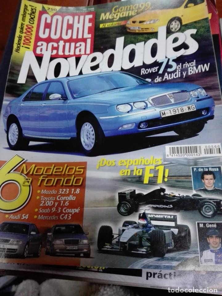 LOTE DE 50 REVISTAS COCHE ACTUAL (Old and Classic Cars and Motorcycles - Car Magazines)