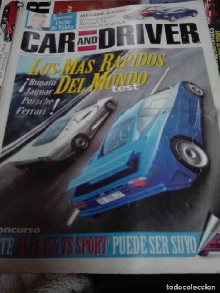 LOTE DE 90 REVISTAS CAR AND DRIVER, GUIAS Y SUPLEMENTOS (Coches y Motocicletas Antiguas y Clásicas - Revistas de Coches)
