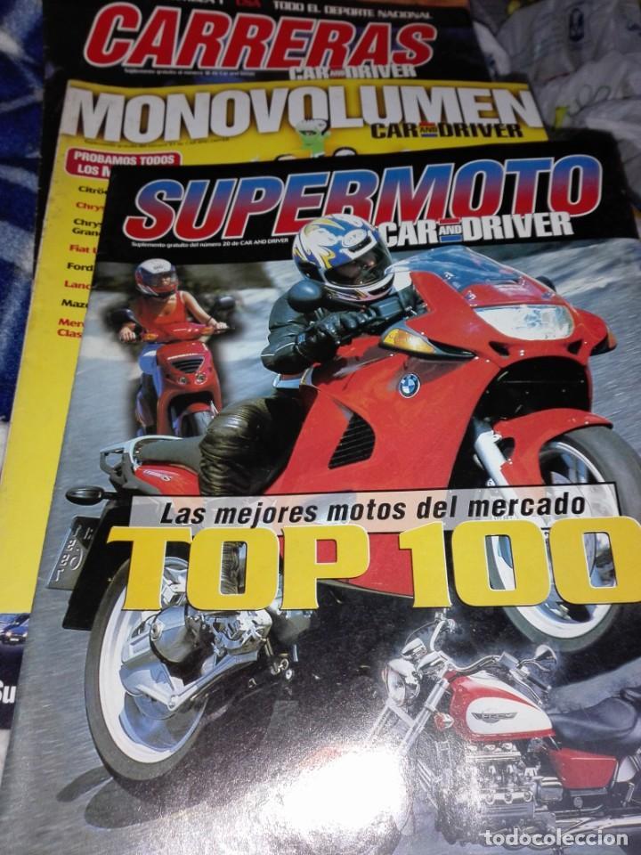 Coches: Lote de 90 revistas car and driver, guias y suplementos - Foto 7 - 142879510