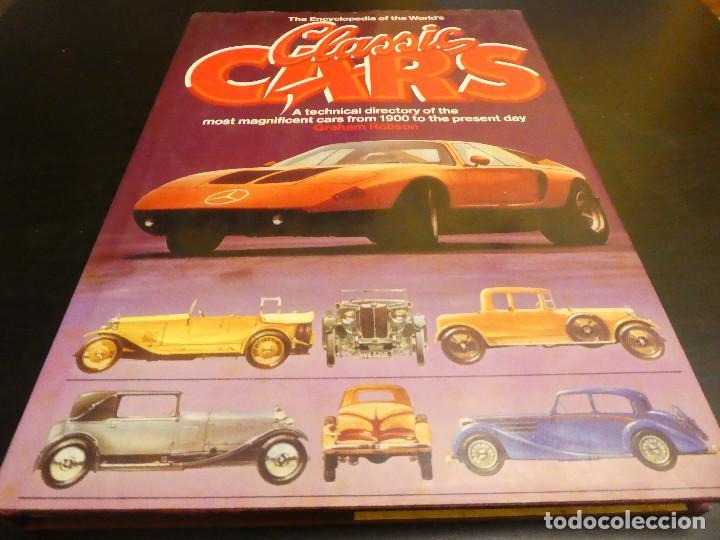 CLASSIC CARIS - GRAHAM ROBSON - LIBRO DE COCHES CLÁSICOS. 248 PÁGINAS. (Coches y Motocicletas Antiguas y Clásicas - Revistas de Coches)
