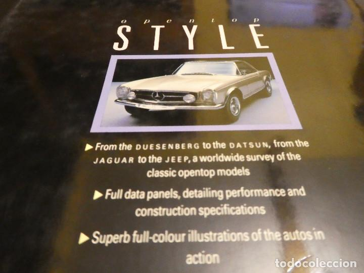 Coches: OPEN-TOP STYLE - Graham Robson - Libro de coches convertibles. 128 páginas. - Foto 5 - 142885746