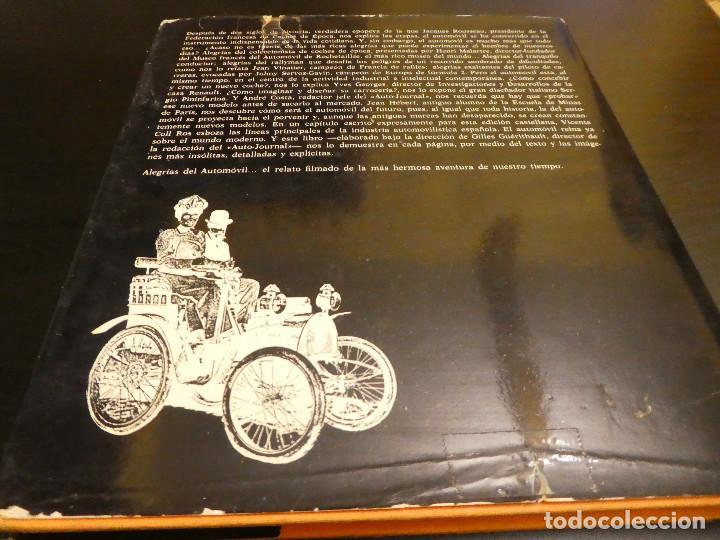 Coches: ALEGRÍAS DEL AUTOMÓVIL - Gilles Guérithault - Libro de coches 1770 a 1970. - Foto 8 - 142887402