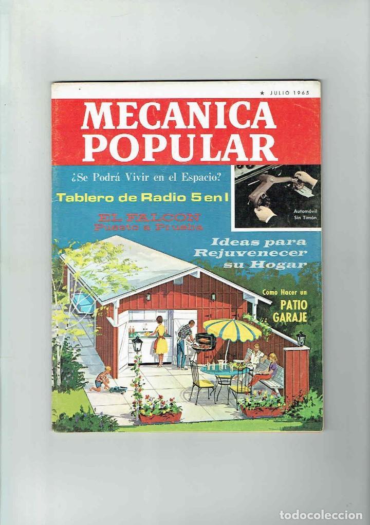 REVISTA MECÁNICA POPULAR SEPTIEMBRE JULIO 1965 (Coches y Motocicletas Antiguas y Clásicas - Revistas de Coches)
