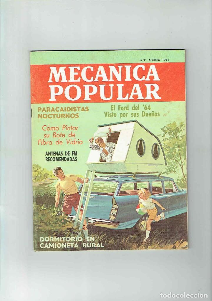 Coches: REVISTA MECÁNICA POPULAR AGOSTO 1964 - Foto 1 - 142891182