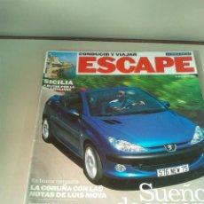 Coches: ESCAPE DESCAPOTABLES PARA TODOS LOS BOLSILLOS AÑO 2001. Lote 142962242