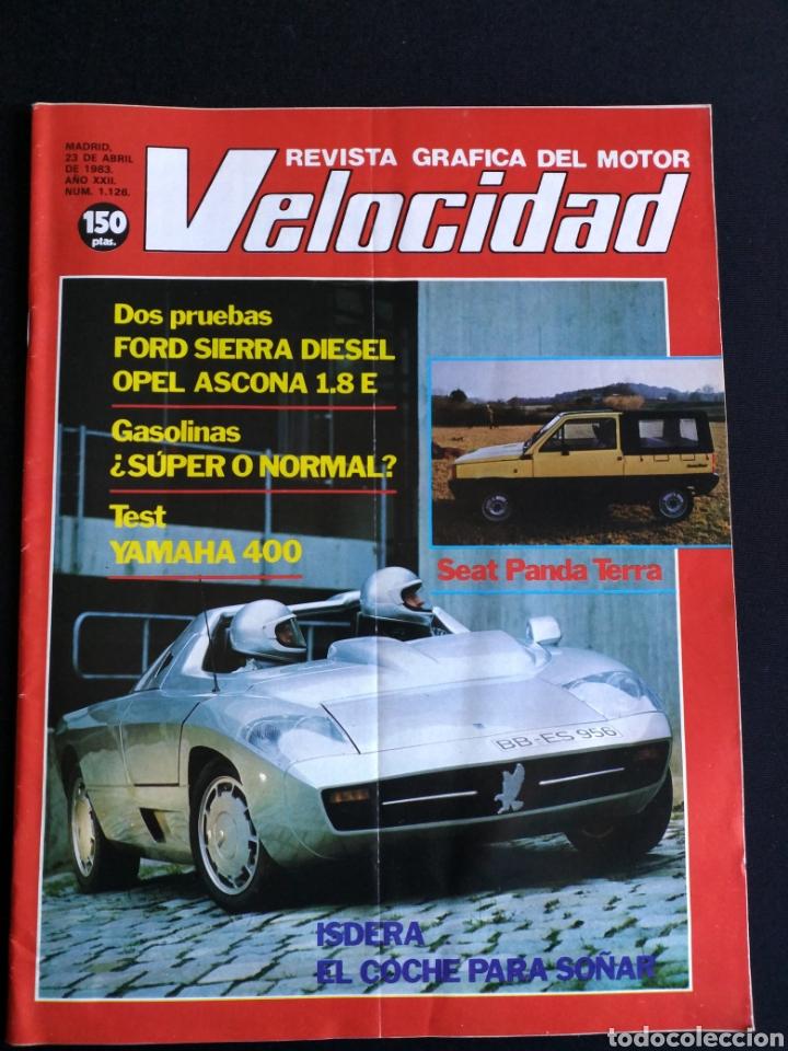 REVISTA VELOCIDAD N° 1126 (Coches y Motocicletas Antiguas y Clásicas - Revistas de Coches)