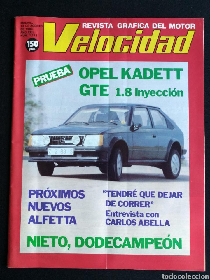 REVISTA VELOCIDAD N° 1142 (Coches y Motocicletas Antiguas y Clásicas - Revistas de Coches)