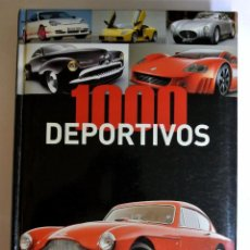 Coches: LIBRO 1000 DEPORTIVOS. Lote 143083390
