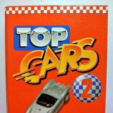Coches: TOP CARS 2 , CARPETA CON FICHAS DE COCHES. Lote 143085870