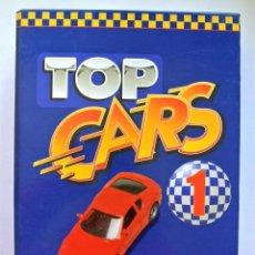 Coches: TOP CARS 1 , CARPETA Y FICHAS DE AUTOMOVILES DE COLECCIÓN. Lote 143086166