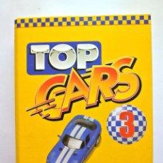 Coches: TOP CARS 3 , CARPETA Y FICHAS DE AUTOMOVILES DE COLECCIÓN. Lote 143086446