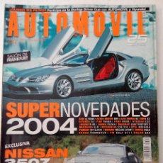 Coches: REVISTA AUTOMOVIL FORMULA Nº 309 - FOTO SUMARIO- NISSAN 350Z - CLIO V6 SPORT - BOXTER S - . Lote 143104494
