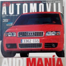 Coches: REVISTA AUTOMOVIL FORMULA Nº 308 - FOTO SUMARIO- AUDI A3 FSI - A3 TDI - AUDI S4 V8 4.2 - MB S500 4 M. Lote 143104718