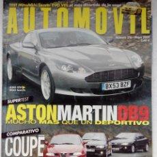 Carros: REVISTA AUTOMOVIL FORMULA Nº 316 - FOTO SUMARIO-ALFA GT 2.0 - BMW 318 CI - PEUGEOT 406 2.2I. Lote 143226026