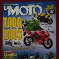 Coches: LA MOTO YAMAHA YZF R6 . KAWASAKI ZX 6R . HONDA CBR 600 . SUZUKI SV 600 1000 S. BMW R1150 R . SUZUKI . Lote 143646766