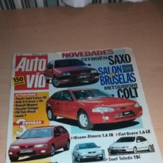 Coches: REVISTA AUTOVÍA Nº 71 MARZO 1996 LAMBORGHINI DIABLO ROADSTER. Lote 143915898