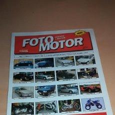 Coches: FOTO MOTOR COTXES I MOTOS AÑO 1 NUMERO 2 MARZO 1999 - EN CATALAN. Lote 143916990
