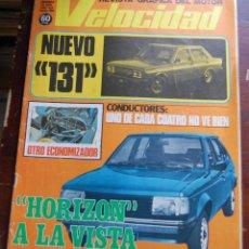 Coches: REVISTA GRAFICA DEL MOTOR VELOCIDAD Nº 858 18 FEBRERO DEL 1978. Lote 143935874