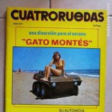 Coches: REVISTA CUATRORUEDAS. JULIO. AÑO 1971.. Lote 144468134