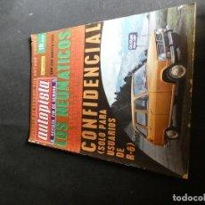 Coches: MUY BUEN ESTADO REVISTA AUTOPISTA 548 AGOSTO 1969. Lote 144605654