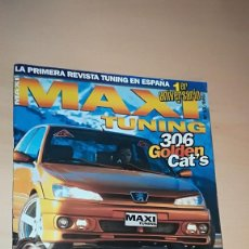 Coches: REVISTA MAXI TUNING Nº 12 - SIN POSTER. Lote 144854846