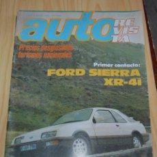 Coches: AUTO REVISTA FORD SIERRA ABRIL DE 1983. Lote 144912834