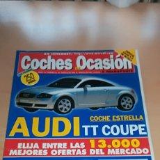 Coches: REVISTA CATALOGO COCHES DE OCASIÓN Nº 44 AGOSTO 1999. Lote 144928654