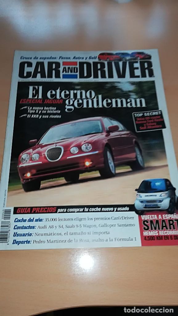 REVISTA CAR AND DRIVER Nº 40 ENERO 1999 ESPECIAL JAGUAR EL ETERNO GENTLEMAN (Coches y Motocicletas Antiguas y Clásicas - Revistas de Coches)