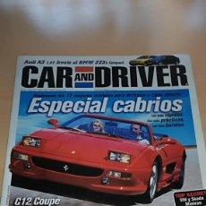 Coches: REVISTA CAR AND DRIVER Nº 47 AGOSTO 1999 ESCPECIAL CABRIOS. Lote 144929198