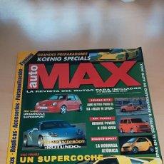 Coches: REVISTA AUTO MAX Nº 29 MARZO 1999. Lote 144929558