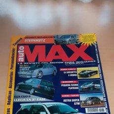 Coches: REVISTA AUTO MAX Nº 31 MAYO 1999. Lote 144929610