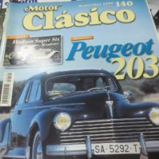 Coches: MOTOR CLÁSICO PEUGEOT 203 SEPTIEMBRE 1999. Lote 145481498