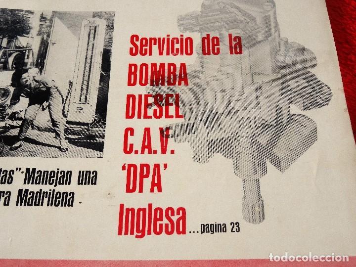 Coches: AUTOMOVIL INTERNACIONAL OCTUBRE 1962 BOMBA DIESEL C.A.V. DPA INGLESA - Foto 2 - 146109578