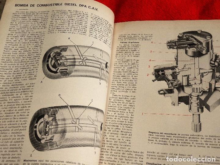 Coches: AUTOMOVIL INTERNACIONAL OCTUBRE 1962 BOMBA DIESEL C.A.V. DPA INGLESA - Foto 3 - 146109578