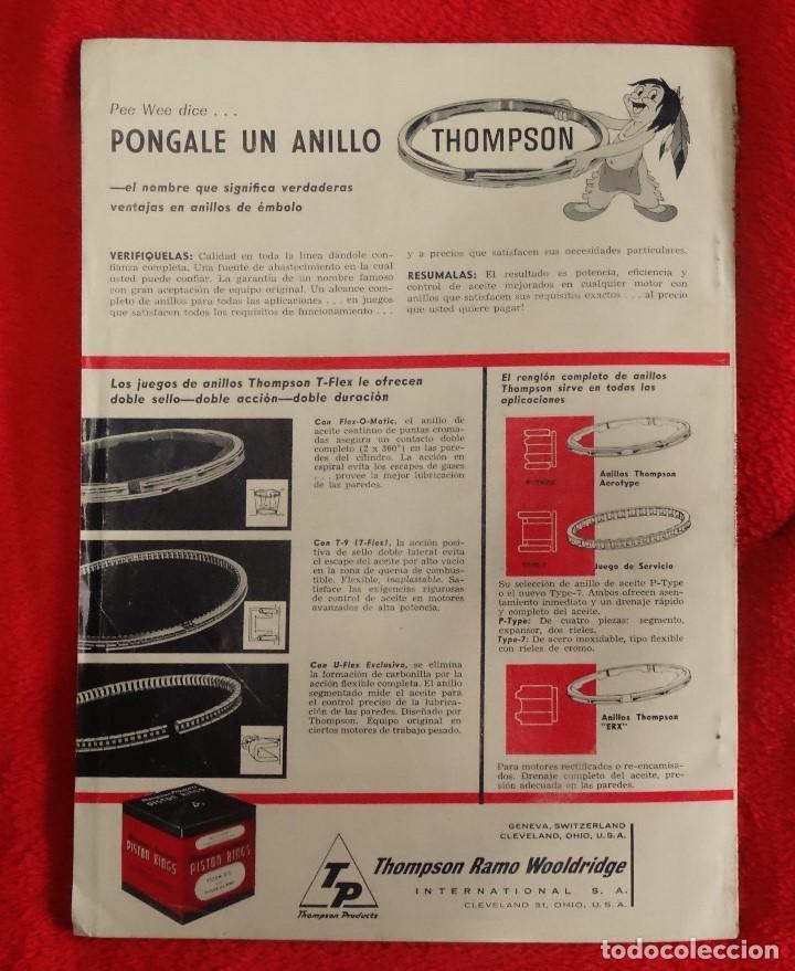 Coches: AUTOMOVIL INTERNACIONAL OCTUBRE 1962 BOMBA DIESEL C.A.V. DPA INGLESA - Foto 6 - 146109578