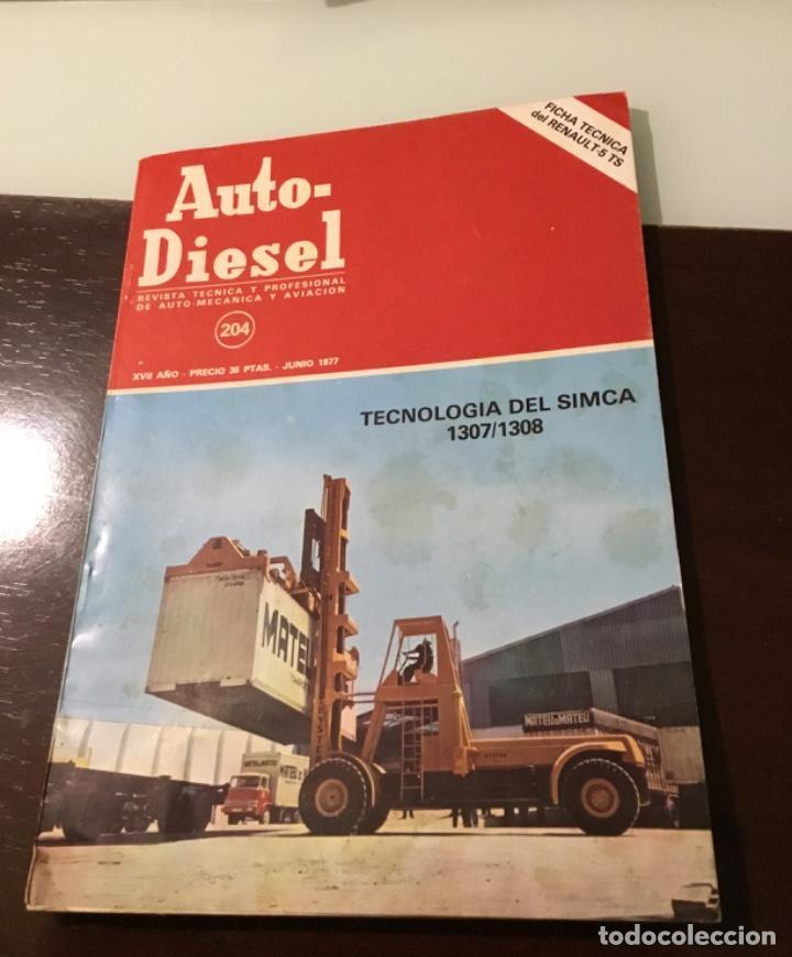 ANTIGUA REVISTA SIMCA 1307 1308 RENAULT 5 TS (Coches y Motocicletas Antiguas y Clásicas - Revistas de Coches)