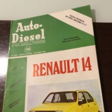 Coches: ANTIGUA REVISTA OPEN RÉCORD II 1,7 RENAULT 14. Lote 146188430